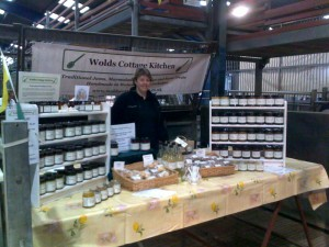 Wolds Cottage Kitchen Stall, York Farmers Market, Murton