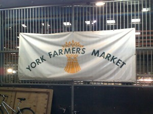 York Farmers' Market Banner