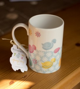 Portmereion Spring Day Hen Mug